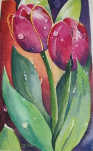 peinture-aquarelle-deux-tulipes-cours-aquarelle-linda-boyte_2mo